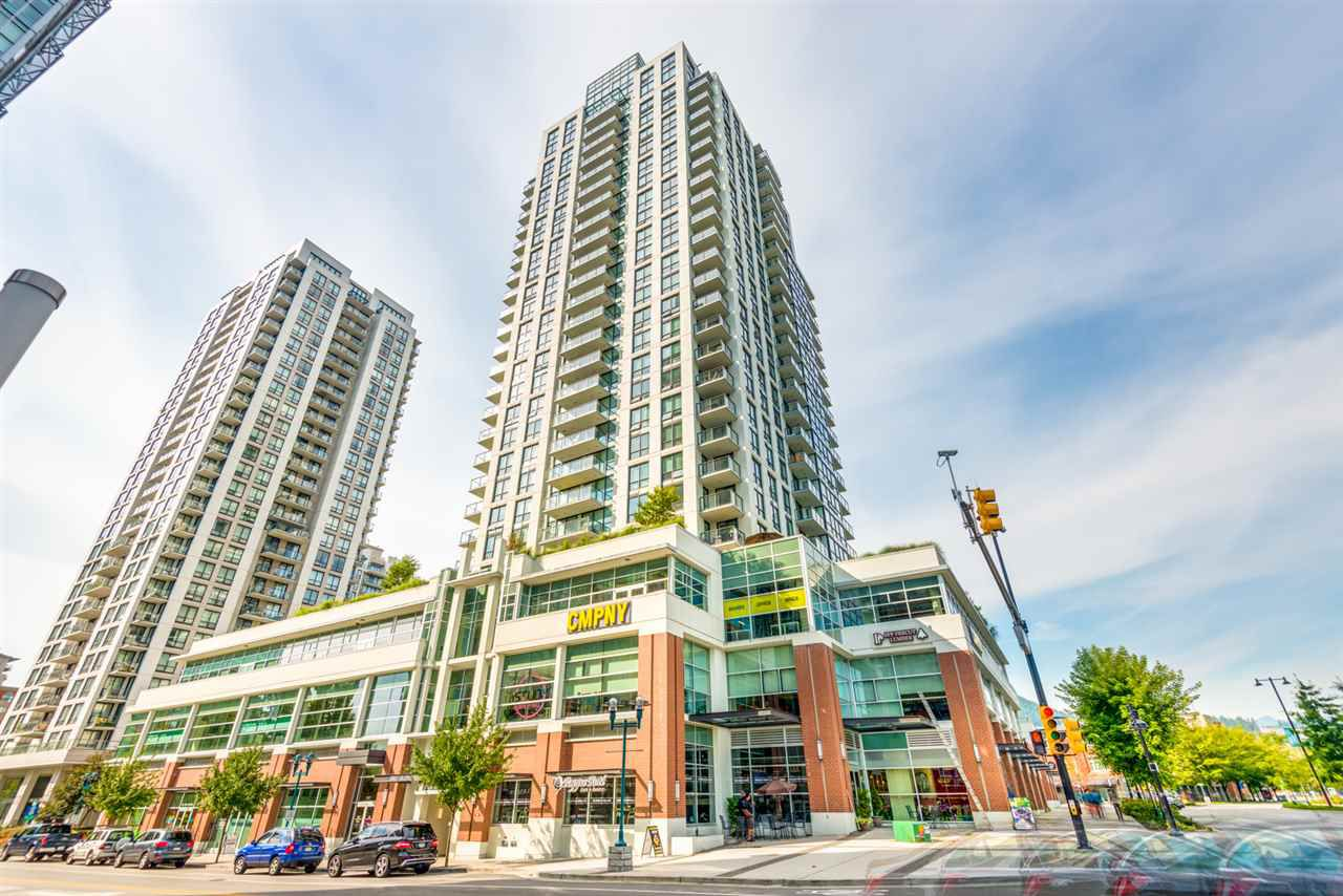 "Main Photo: 1303 3007 GLEN Drive in Coquitlam: North Coquitlam Condo for sale in ""EVERGREEN BY ROSA"" : MLS®# R2313358"