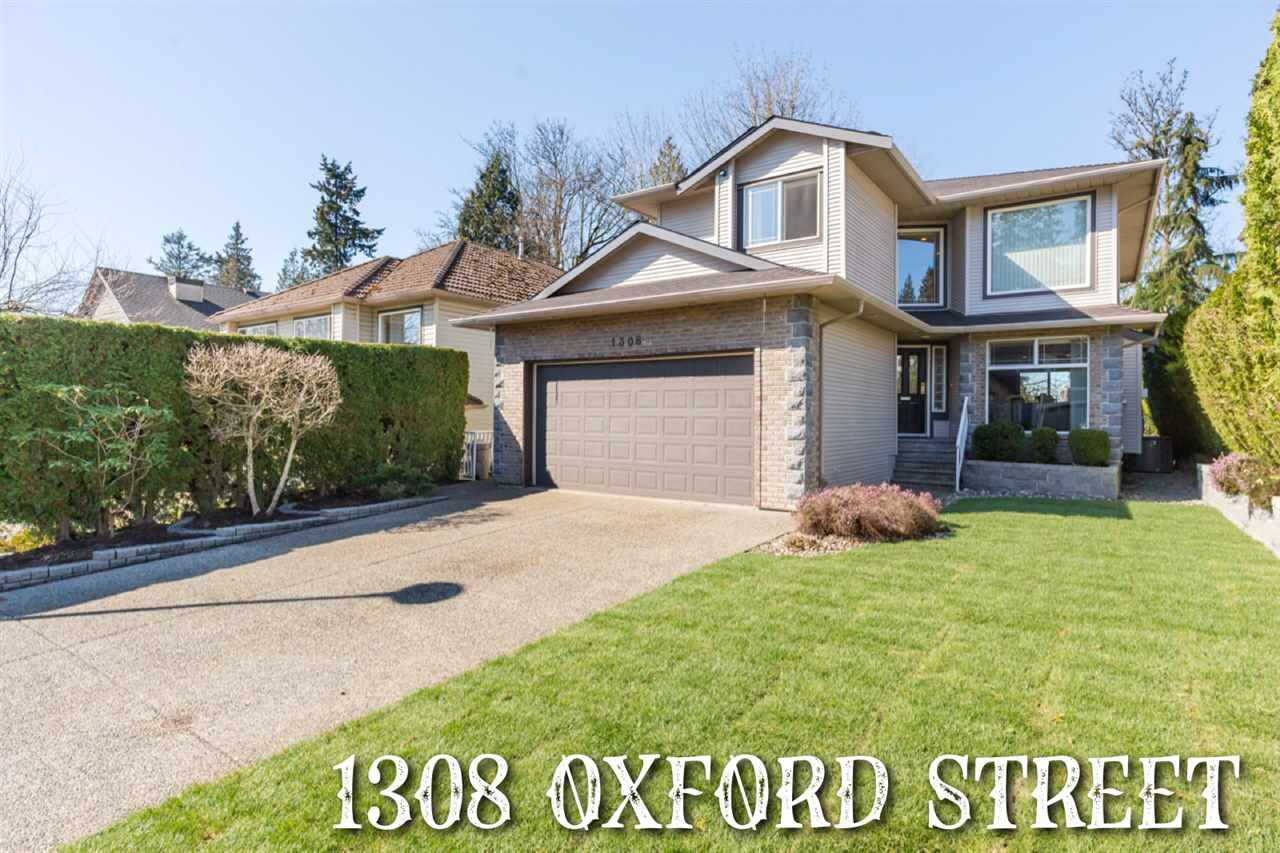 Main Photo: 1308 OXFORD Street in Coquitlam: Burke Mountain House for sale : MLS®# R2354540