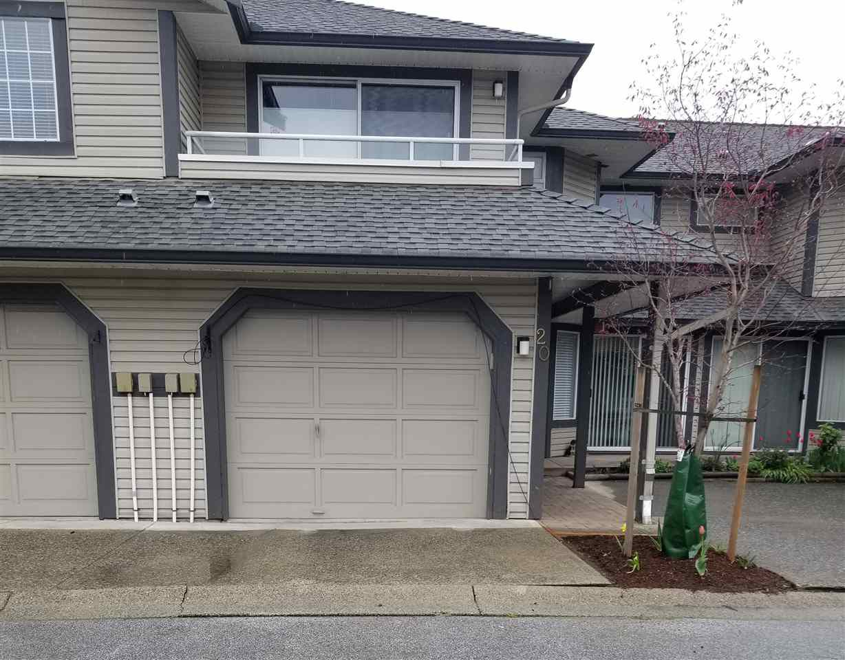 "Main Photo: 20 2561 RUNNEL Drive in Coquitlam: Eagle Ridge CQ Townhouse for sale in ""CAMRIDGE COURT"" : MLS®# R2357704"