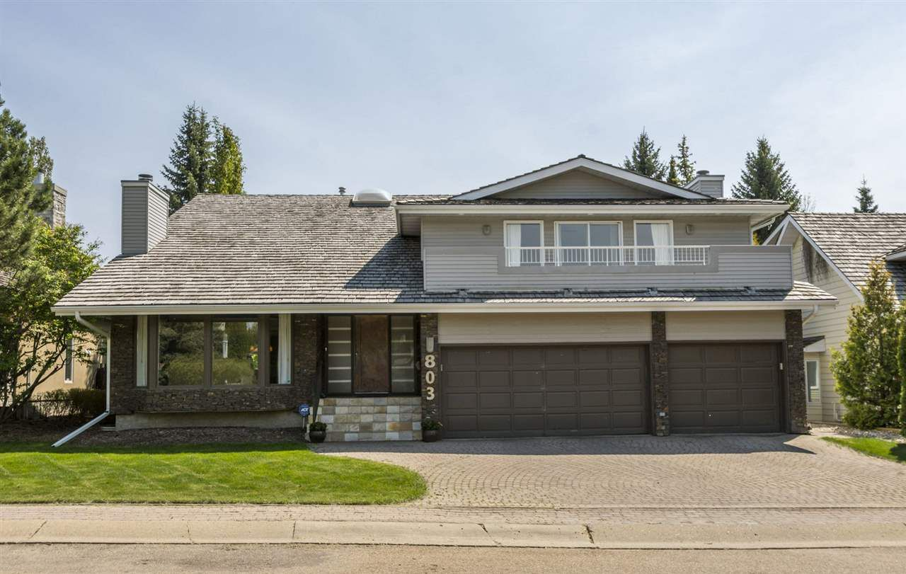 Main Photo: 803 ROMANIUK Place in Edmonton: Zone 14 House for sale : MLS®# E4159060