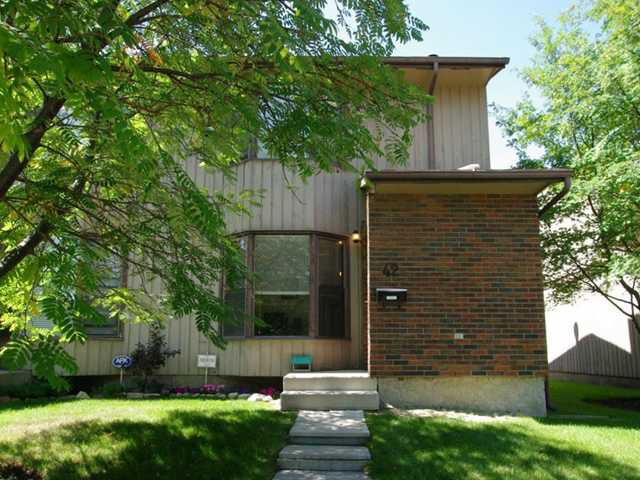Main Photo: 42 6103 MADIGAN Drive NE in CALGARY: Marlborough Park Townhouse for sale (Calgary)  : MLS®# C3503192