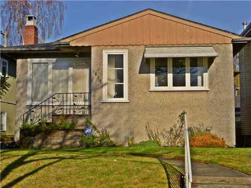 Main Photo: 4217 16TH Ave W in Vancouver West: Point Grey Home for sale ()  : MLS®# V980971