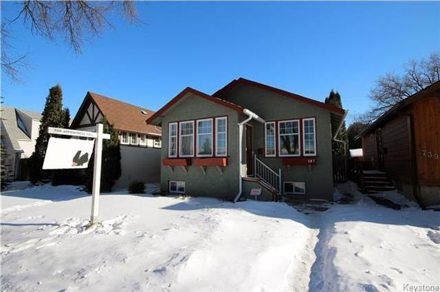 Main Photo: 741 Goulding Street in Winnipeg: Residential for sale (5C)  : MLS®# 1802992
