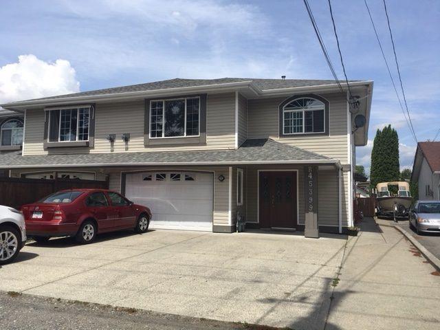 Main Photo: B 45399 WATSON Road in Chilliwack: Vedder S Watson-Promontory House 1/2 Duplex for sale (Sardis)  : MLS®# R2284206