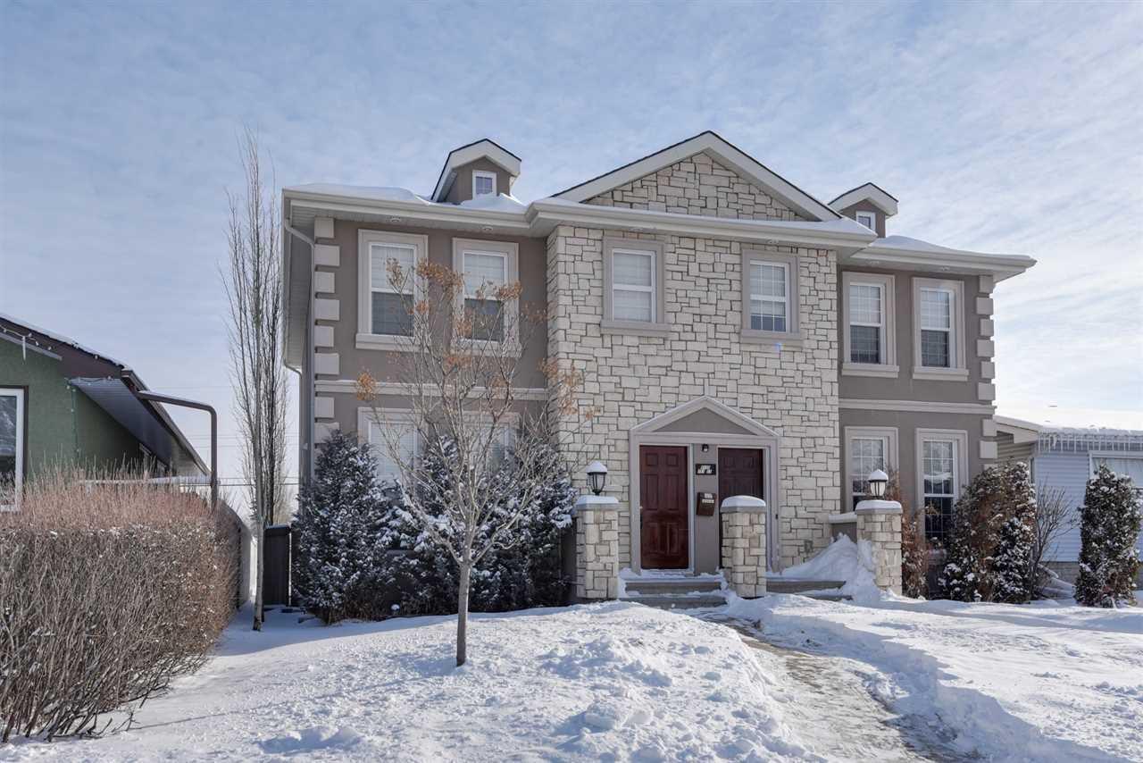 Main Photo: 2 9135 151 Street in Edmonton: Zone 22 House Half Duplex for sale : MLS®# E4143400