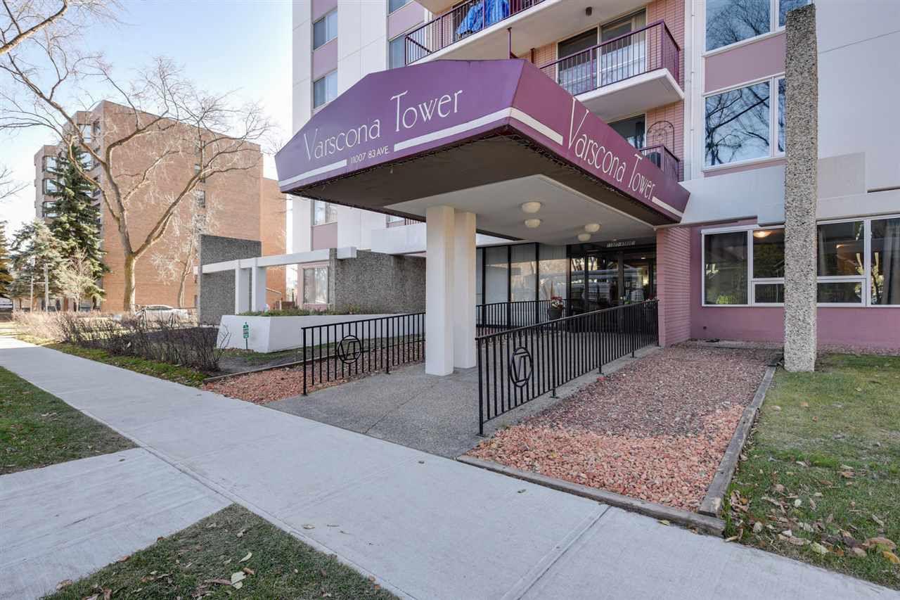 Main Photo: 1003 11007 83 Avenue in Edmonton: Zone 15 Condo for sale : MLS®# E4145638
