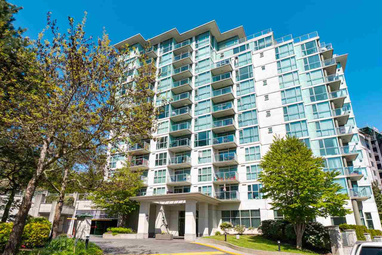 Main Photo: 802 2763 CHANDLERY Place in Vancouver: Fraserview VE Condo for sale (Vancouver East)  : MLS®# R2367614