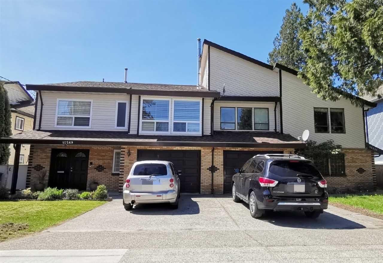 Main Photo: 10269 144 Street in Surrey: Whalley House 1/2 Duplex for sale (North Surrey)  : MLS®# R2379091