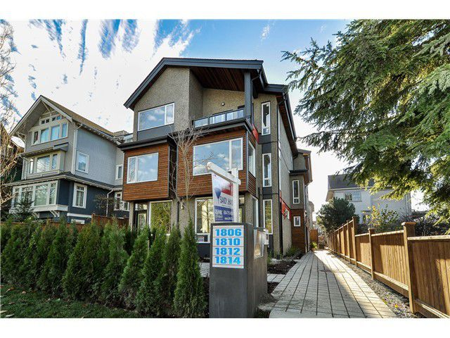 "Main Photo: 1812 E PENDER Street in Vancouver: Hastings Townhouse for sale in ""AZALEA HOMES"" (Vancouver East)  : MLS®# V1051701"