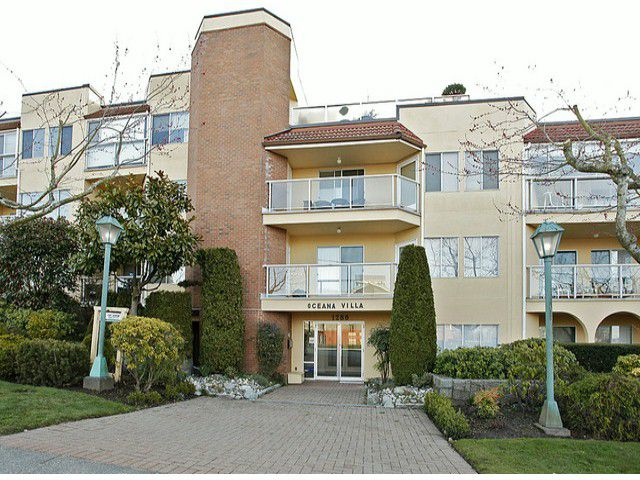 "Main Photo: 210 1280 FIR Street: White Rock Condo for sale in ""Oceana Villa"" (South Surrey White Rock)  : MLS®# F1414130"