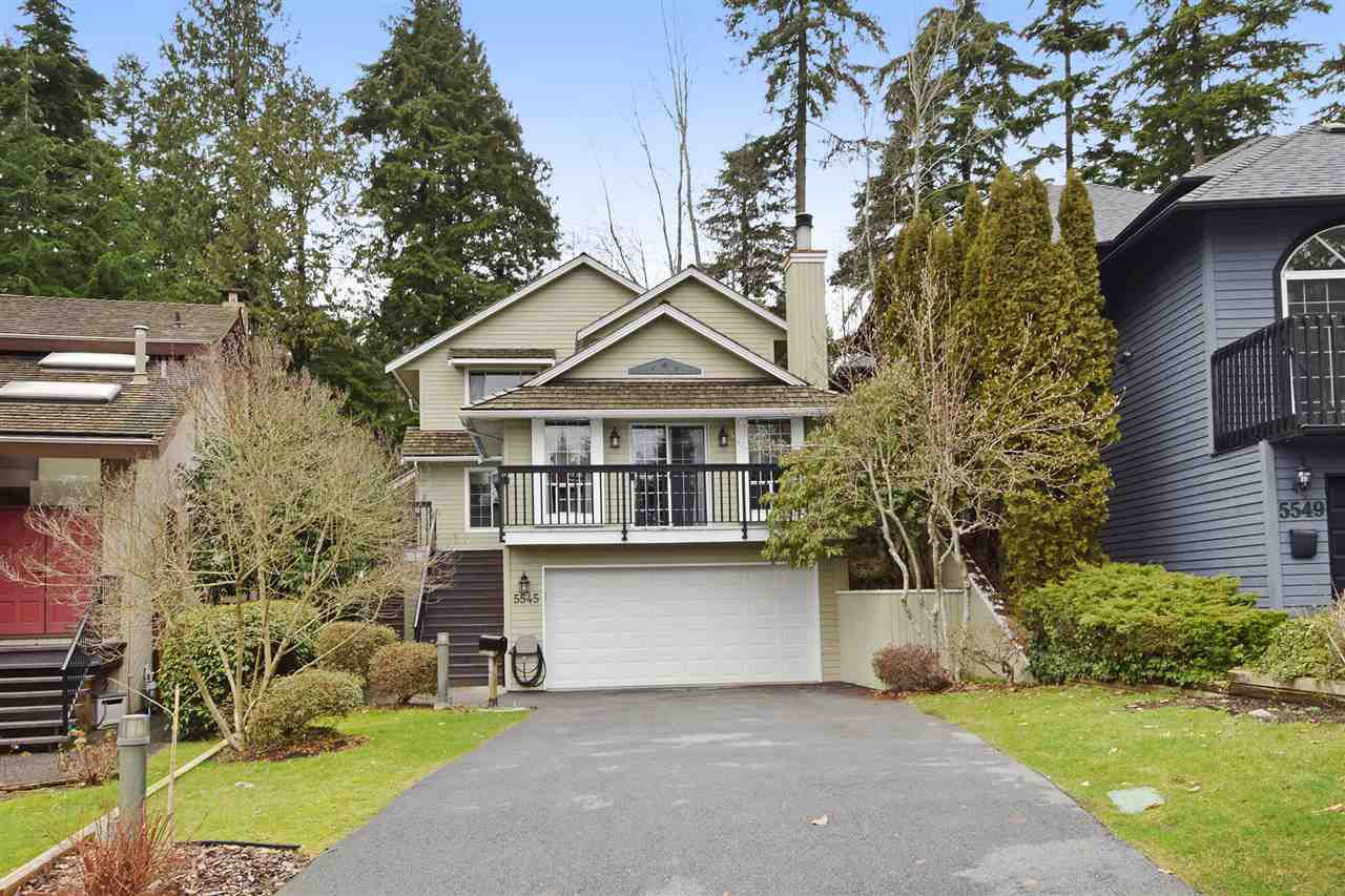 "Main Photo: 5545 DEERHORN Lane in North Vancouver: Grouse Woods House for sale in ""GROUSEWOODS"" : MLS®# R2031482"
