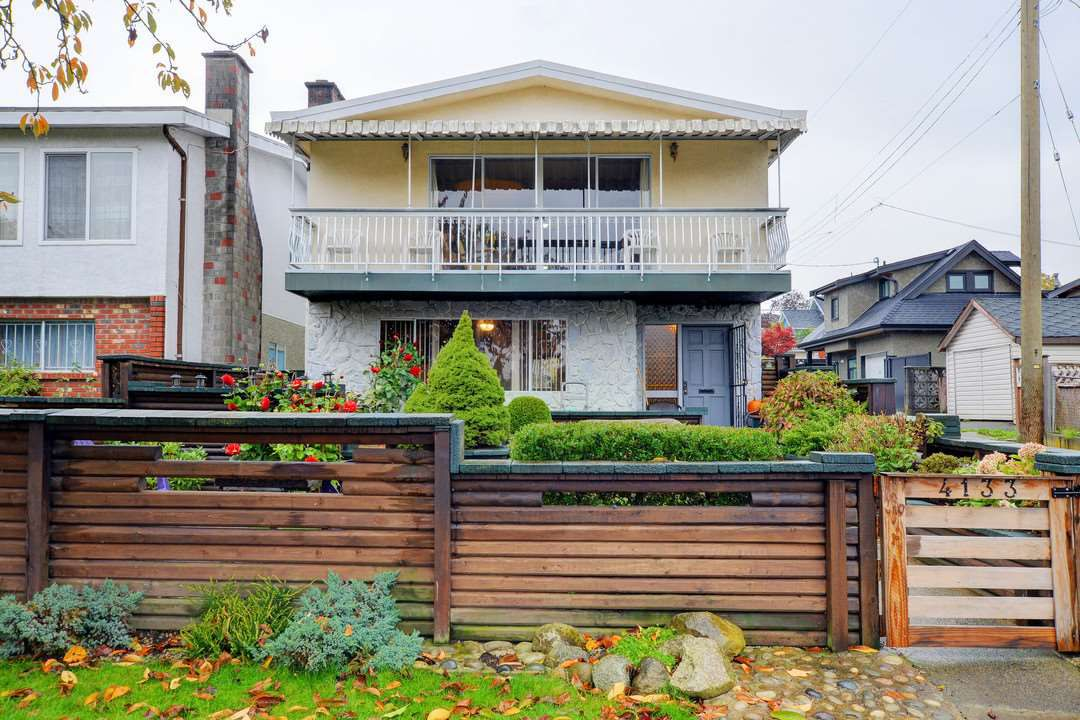 Main Photo: 4133 ST GEORGE Street in Vancouver: Fraser VE House for sale (Vancouver East)  : MLS®# R2118828