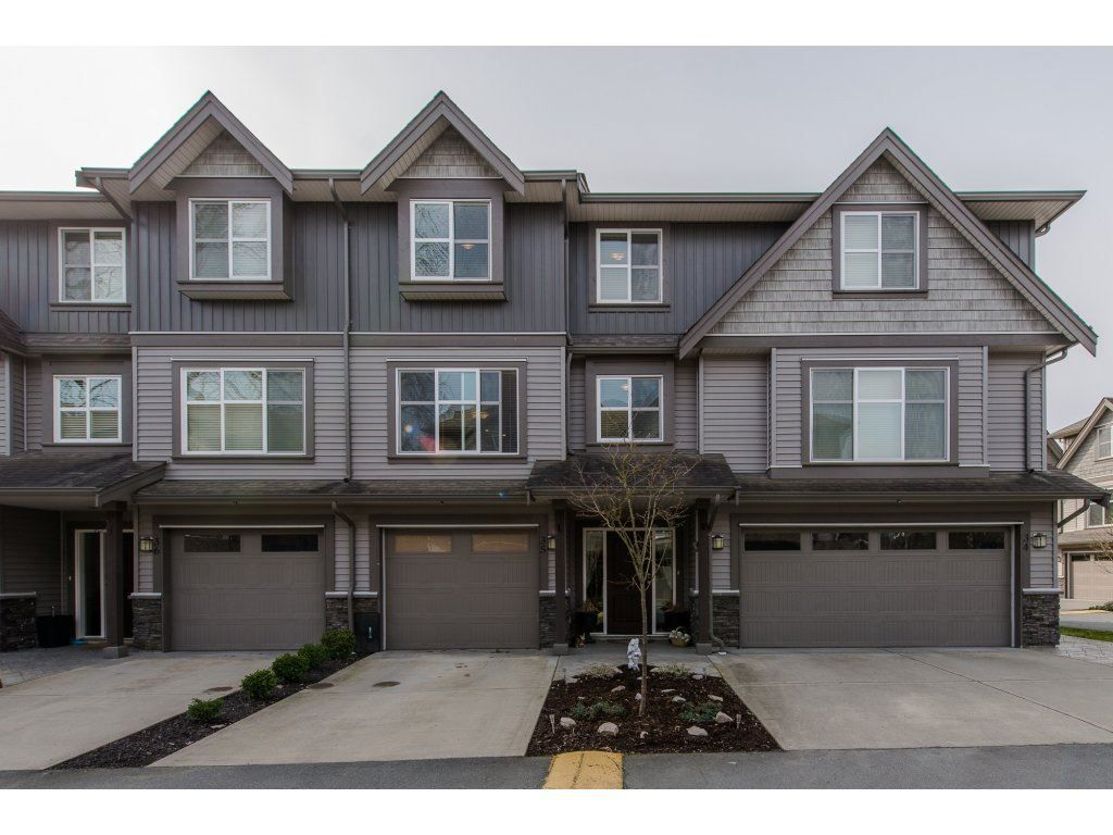 """Main Photo: 35 45085 WOLFE Road in Chilliwack: Chilliwack W Young-Well Townhouse for sale in """"Townsend Terrace"""" : MLS®# R2147920"""