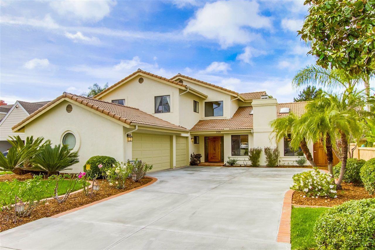 Main Photo: ENCINITAS House for sale : 4 bedrooms : 226 Meadow Vista Way