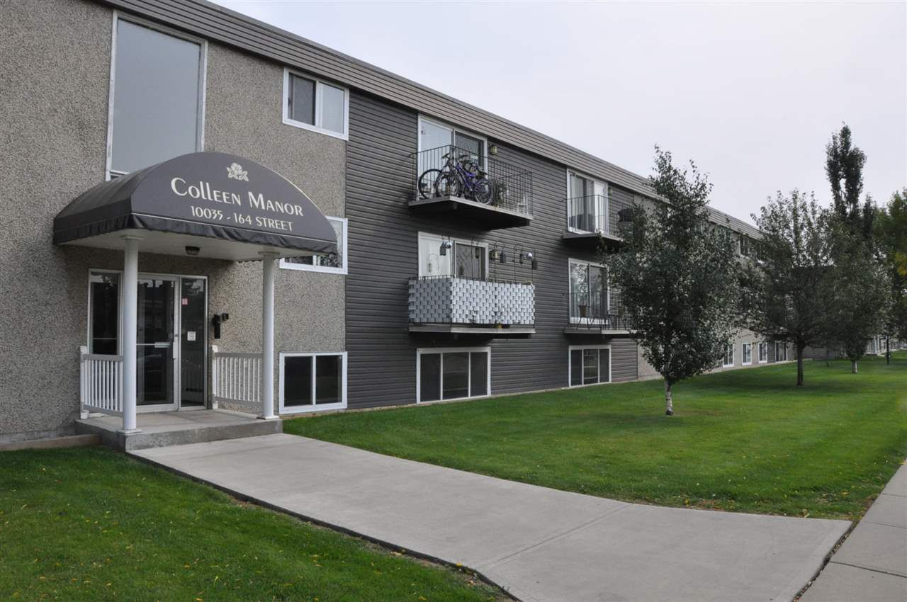 Main Photo: 108 10035 164 Street in Edmonton: Zone 22 Condo for sale : MLS®# E4134348