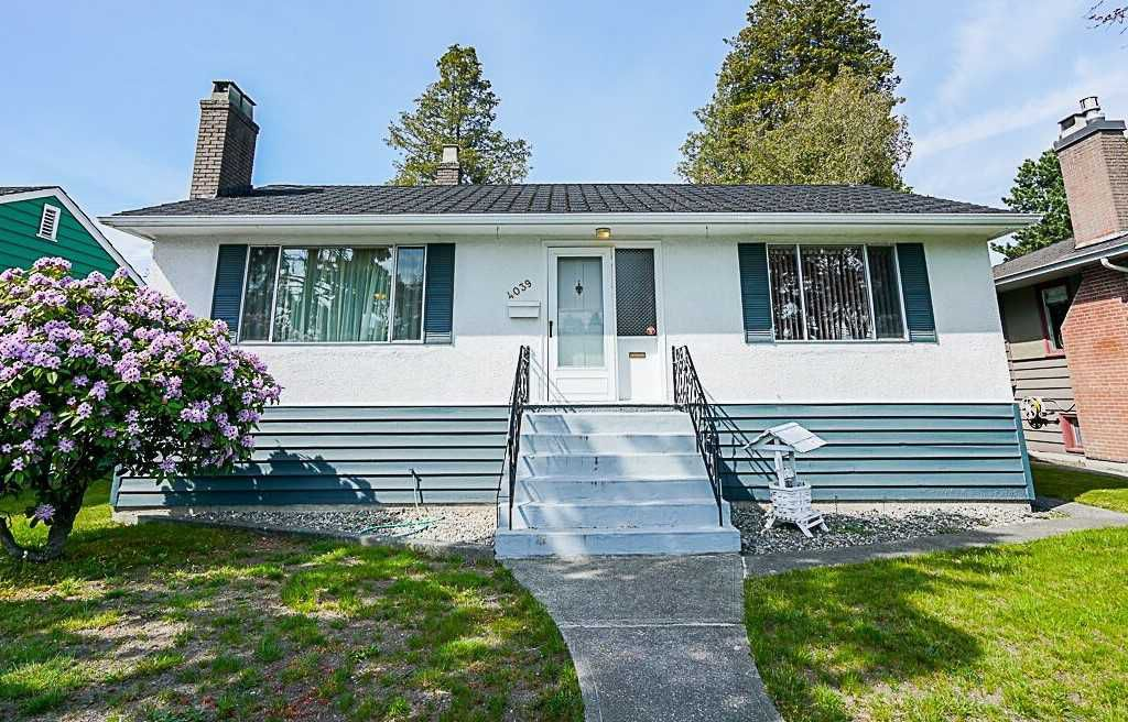Main Photo: 4039 RUMBLE Street in Burnaby: Suncrest House for sale (Burnaby South)  : MLS®# R2368210