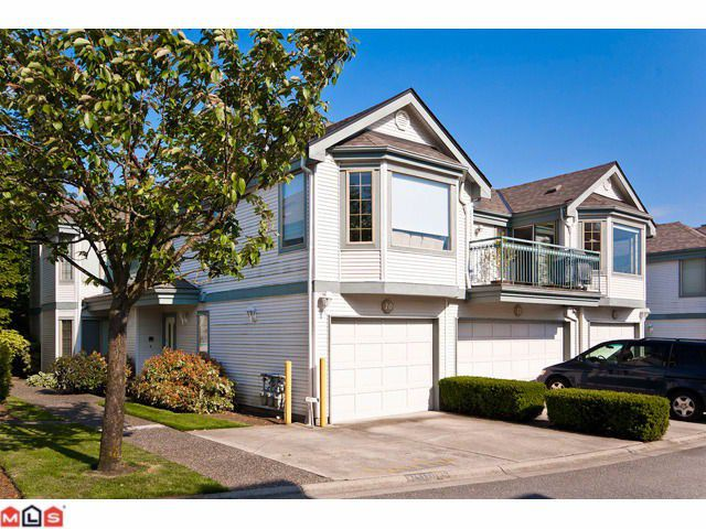 "Main Photo: 10 15840 84TH Avenue in Surrey: Fleetwood Tynehead Townhouse for sale in ""FLEETWOOD GABLES"" : MLS®# F1114742"