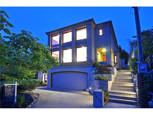 Main Photo: 4550 W 1ST Avenue in Vancouver: Point Grey House for sale (Vancouver West)  : MLS®# V1070016