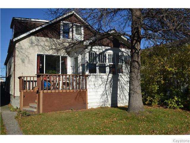 Main Photo: 482 Garlies Street in WINNIPEG: North End Residential for sale (North West Winnipeg)  : MLS®# 1528236