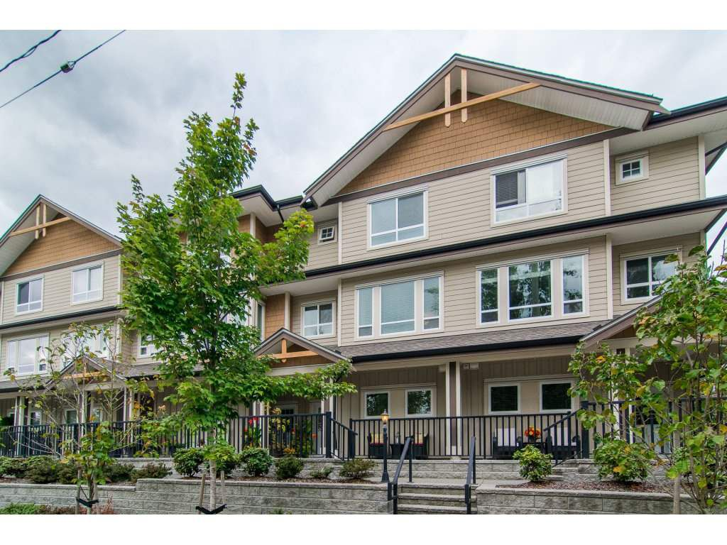 """Main Photo: 4 20187 68TH Avenue in Langley: Willoughby Heights Townhouse for sale in """"VIRTUE"""" : MLS®# R2113605"""