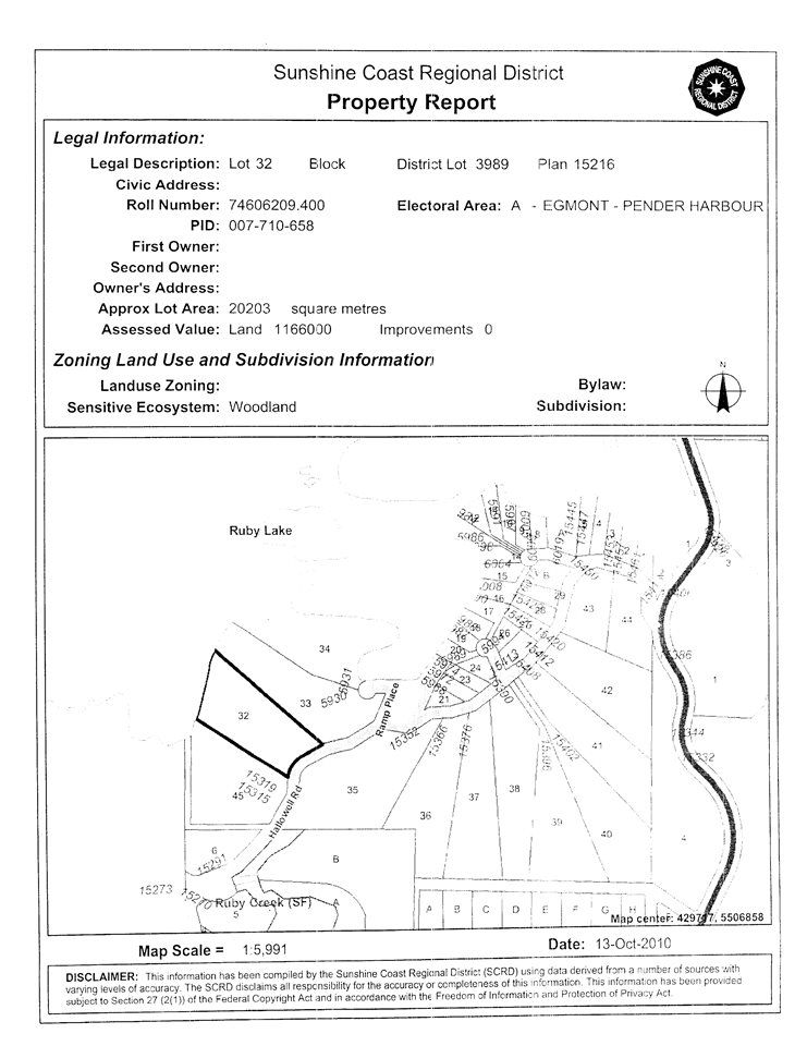 """Photo 10: Photos: LOT 32 HALLOWELL Road in Pender Harbour: Pender Harbour Egmont Home for sale in """"RUBY LAKE"""" (Sunshine Coast)  : MLS®# R2132619"""