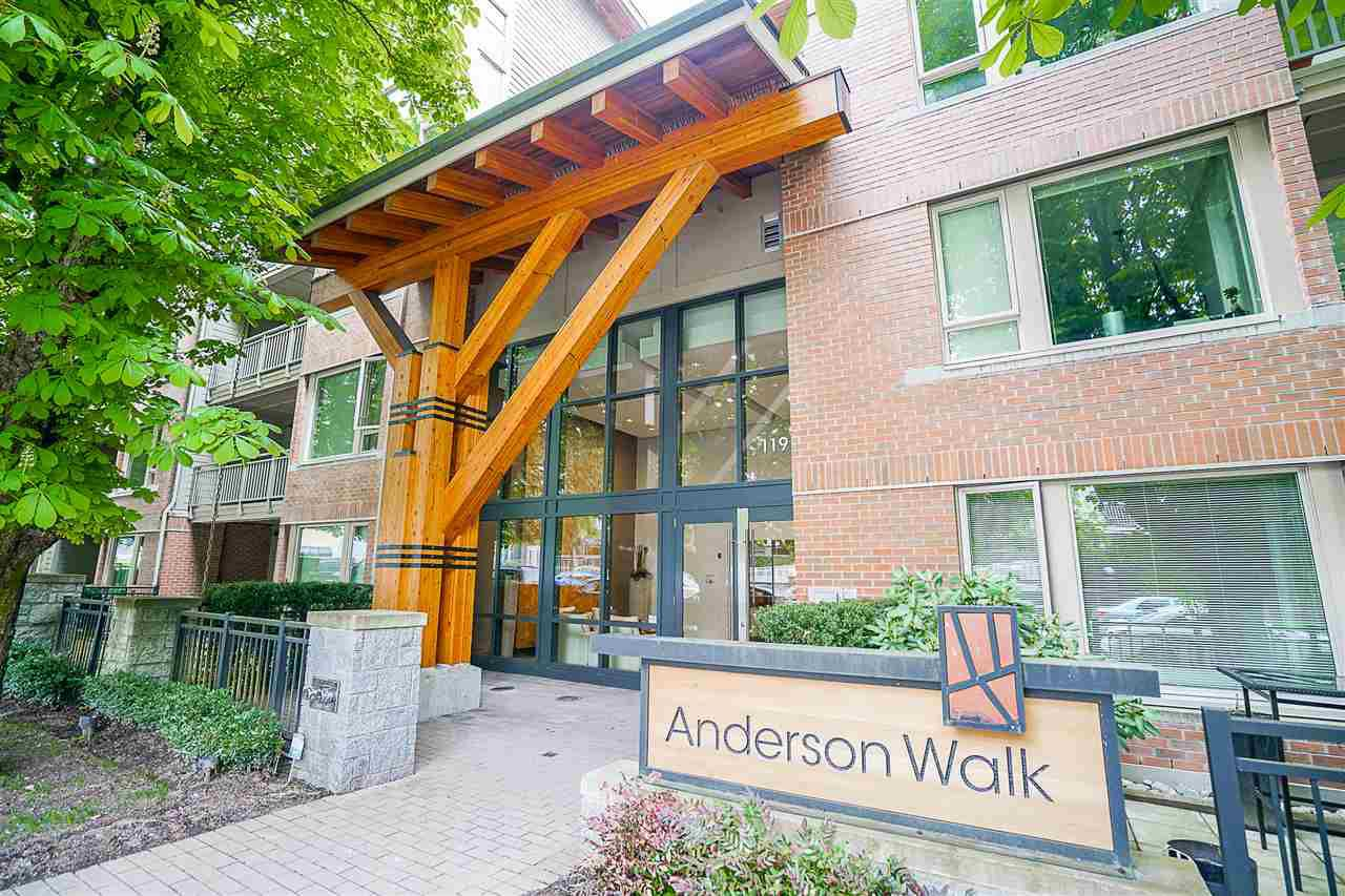 """Main Photo: 423 119 W 22ND Street in North Vancouver: Central Lonsdale Condo for sale in """"Anderson Walk"""" : MLS®# R2168632"""