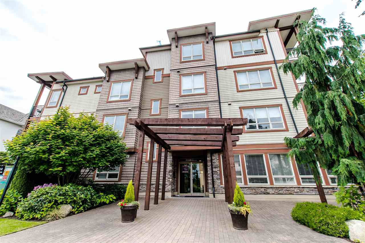 "Main Photo: 100 15268 18 Avenue in Surrey: King George Corridor Condo for sale in ""Park Place"" (South Surrey White Rock)  : MLS®# R2295314"