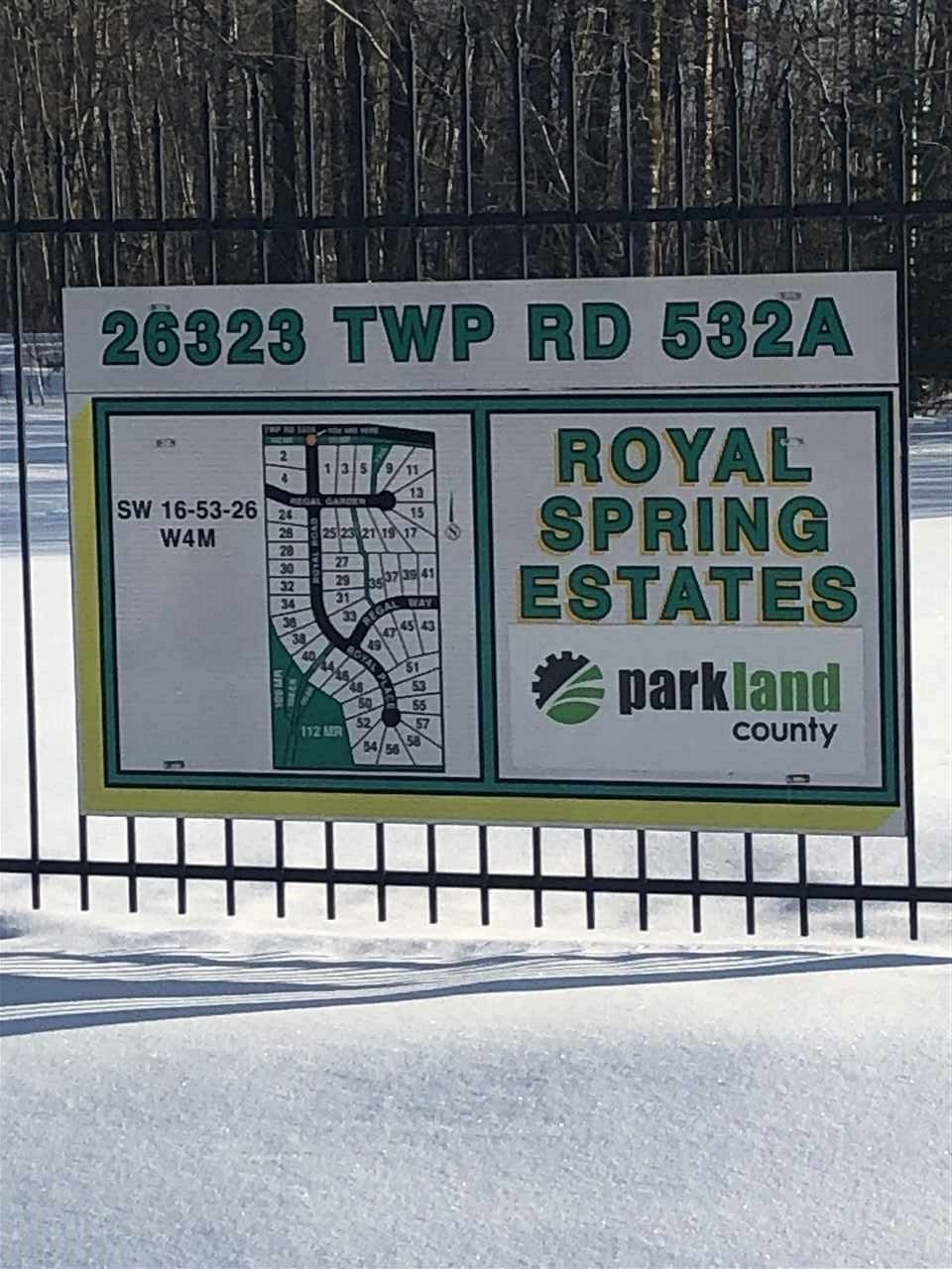 Main Photo: 26323 TWP RD 532 A: Rural Parkland County Rural Land/Vacant Lot for sale : MLS®# E4141321