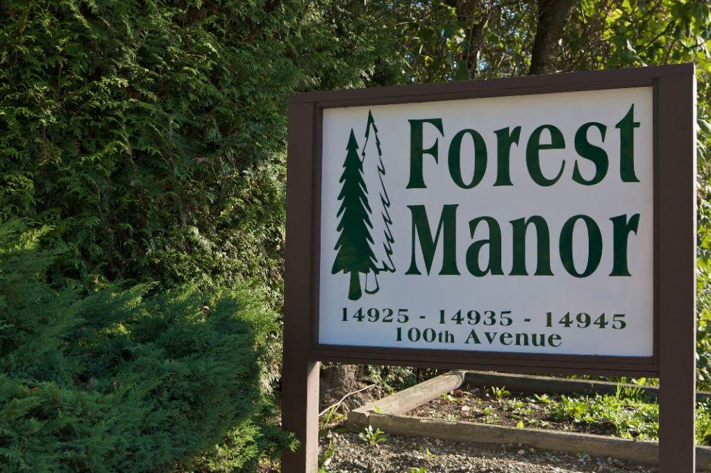 "Main Photo: 308 14925 100TH Avenue in Surrey: Guildford Condo for sale in ""Forest Manor"" (North Surrey)  : MLS®# R2339953"