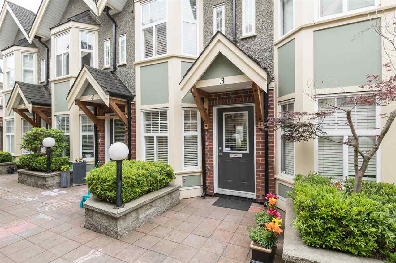 "Main Photo: 3 1638 E GEORGIA Street in Vancouver: Hastings Townhouse for sale in ""WOODSHIRE"" (Vancouver East)  : MLS®# R2340250"