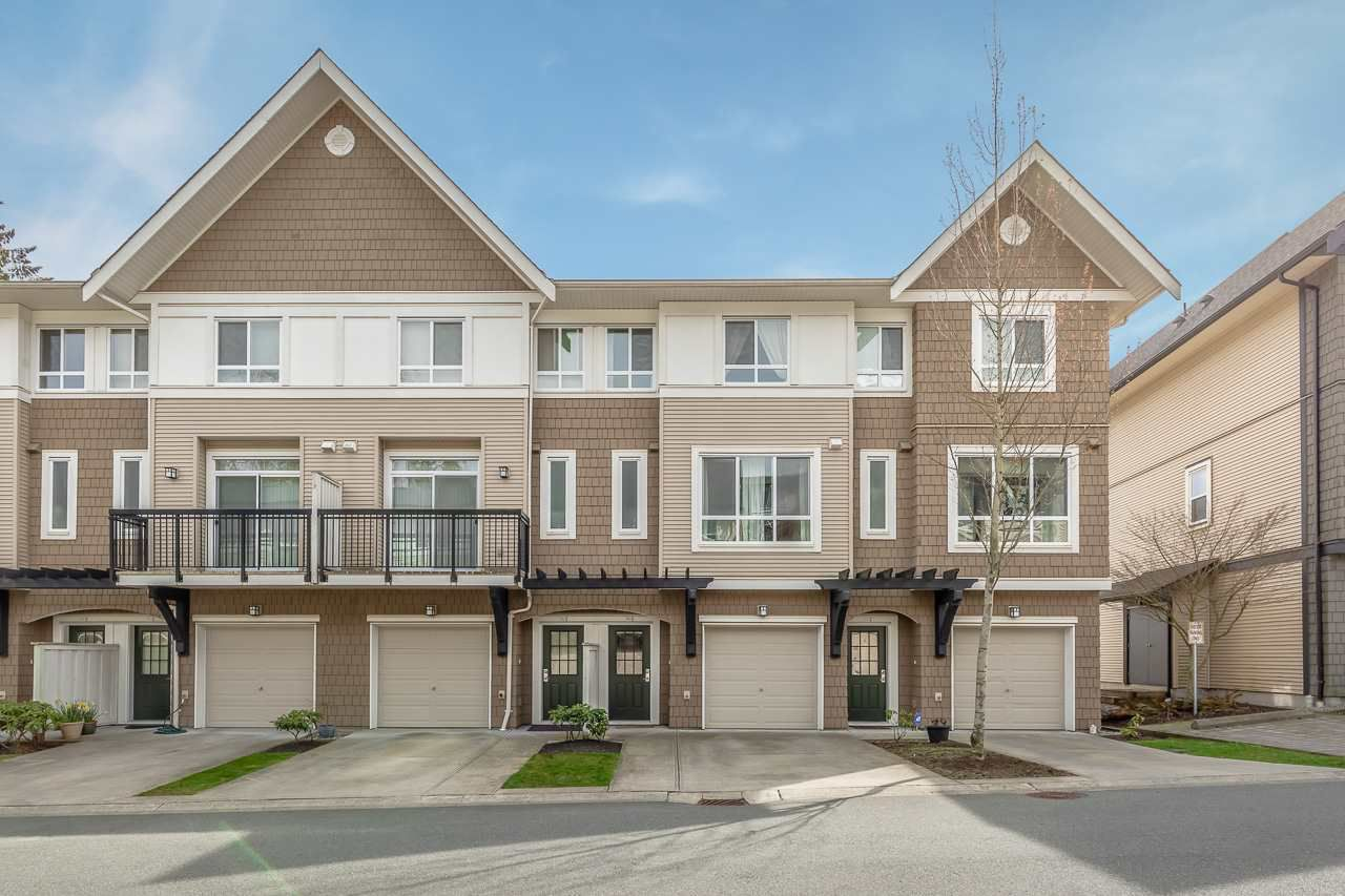 """Main Photo: 55 1295 SOBALL Street in Coquitlam: Burke Mountain Townhouse for sale in """"TYNE RIDGE SOUTH"""" : MLS®# R2357210"""