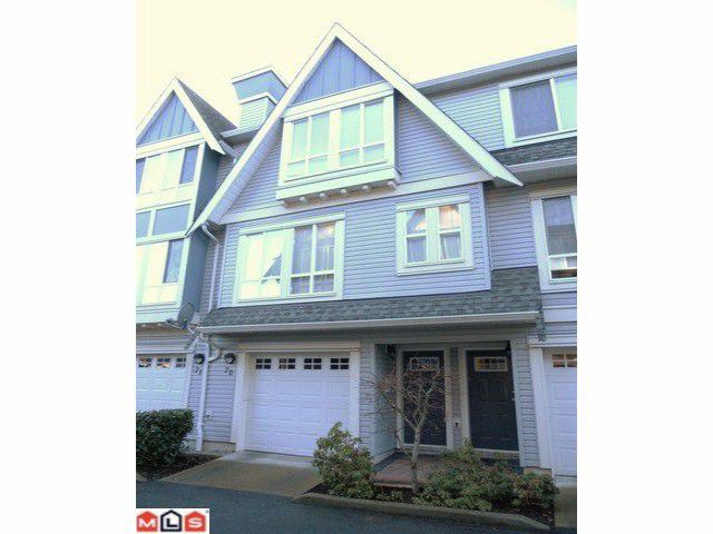 """Main Photo: 70 16388 85TH Avenue in Surrey: Fleetwood Tynehead Townhouse for sale in """"Camelot Village"""" : MLS®# F1106811"""