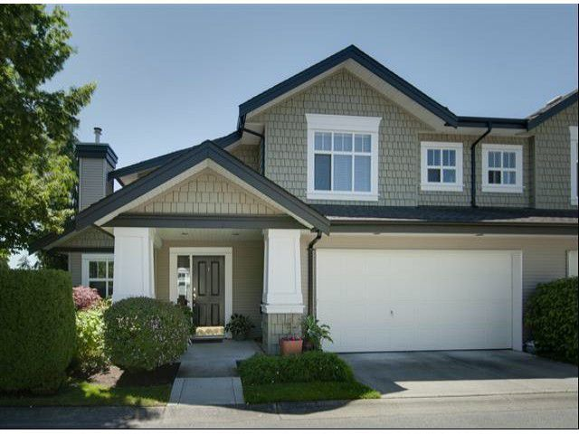 """Main Photo: 1 14877 33RD Avenue in Surrey: King George Corridor Townhouse for sale in """"SANDHURST"""" (South Surrey White Rock)  : MLS®# F1402947"""