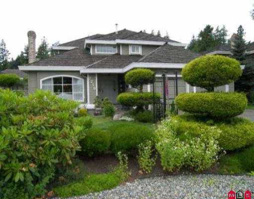 """Main Photo: 2219 148A ST in White Rock: Sunnyside Park Surrey House for sale in """"MERIDIAN BY THE SEA"""" (South Surrey White Rock)  : MLS®# F2613540"""