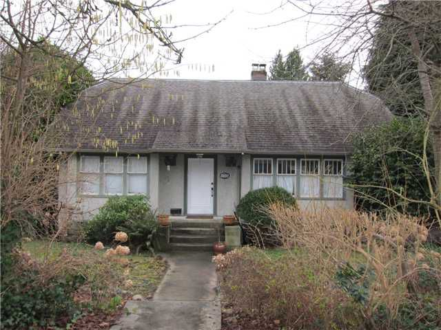 Main Photo: 3492 W 37TH Avenue in Vancouver: Dunbar House for sale (Vancouver West)  : MLS®# V1103943