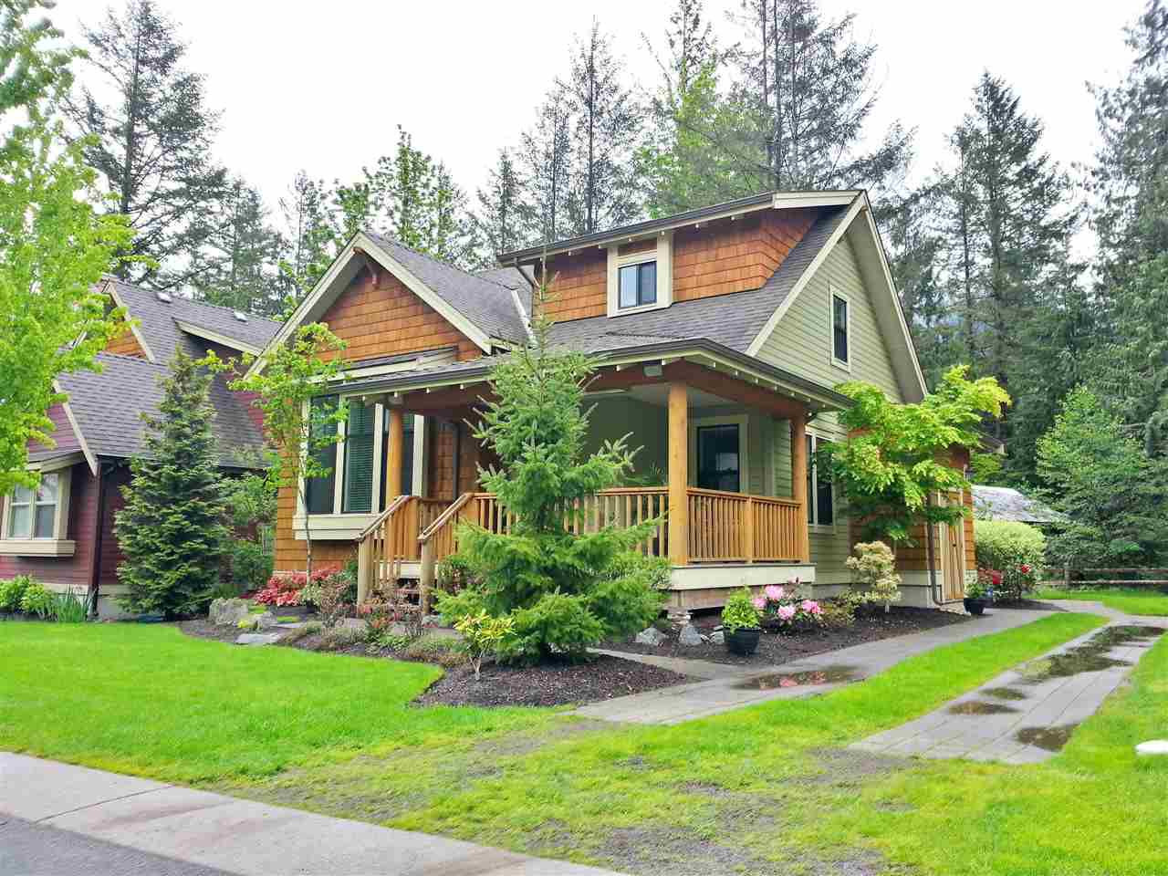 """Main Photo: 1854 MOSSY GREEN Way: Lindell Beach House for sale in """"THE COTTAGES AT CULTUS LAKE"""" (Cultus Lake)  : MLS®# R2167523"""