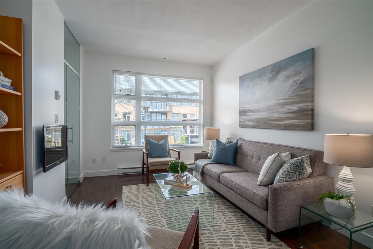 "Main Photo: 204 5632 KINGS Road in Vancouver: University VW Townhouse for sale in ""GALLERIA"" (Vancouver West)  : MLS®# R2255313"