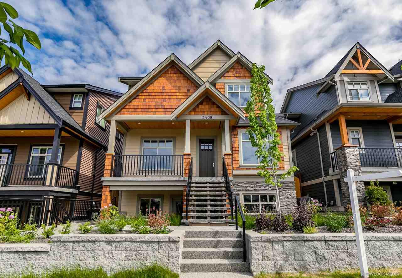 Main Photo: 3409 DARWIN Avenue in Coquitlam: Burke Mountain House for sale : MLS®# R2272082