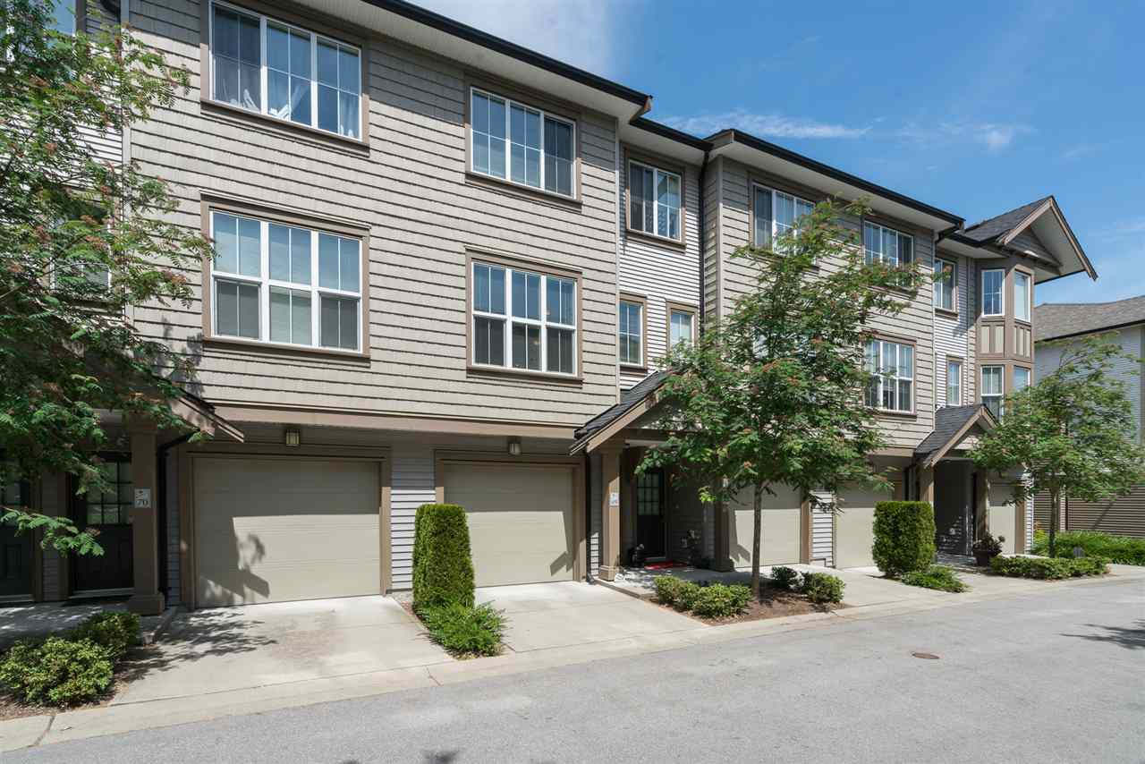 "Main Photo: 69 14838 61 Avenue in Surrey: Sullivan Station Townhouse for sale in ""SEQUOIA"" : MLS®# R2272942"
