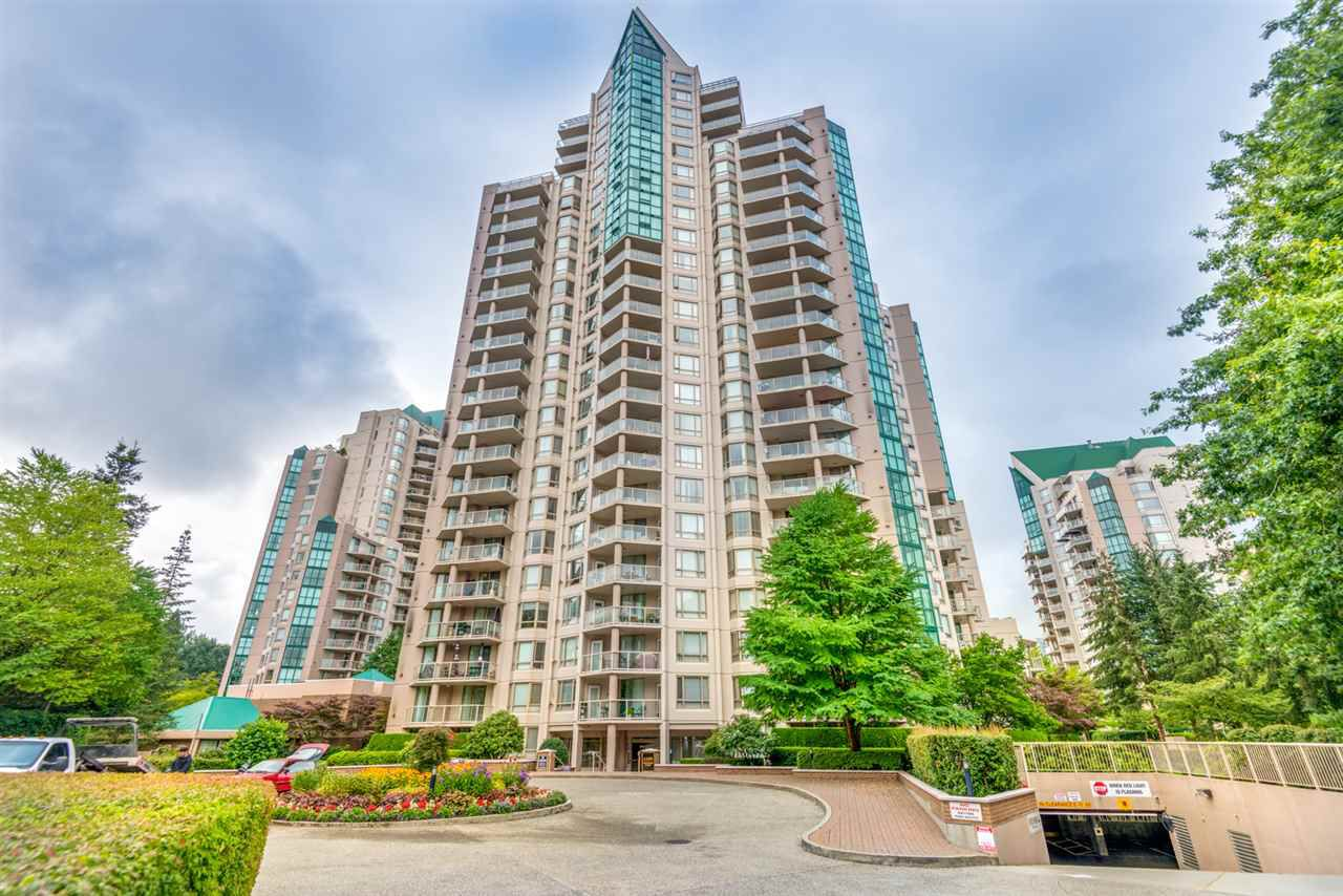 "Main Photo: 106 1199 EASTWOOD Street in Coquitlam: North Coquitlam Condo for sale in ""The Selkirk"" : MLS®# R2302782"