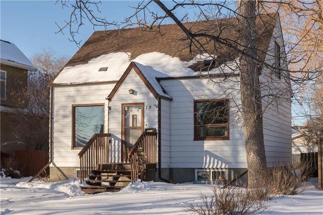 Main Photo: 79 Fifth Avenue in Winnipeg: St Vital Residential for sale (2D)  : MLS®# 1901612