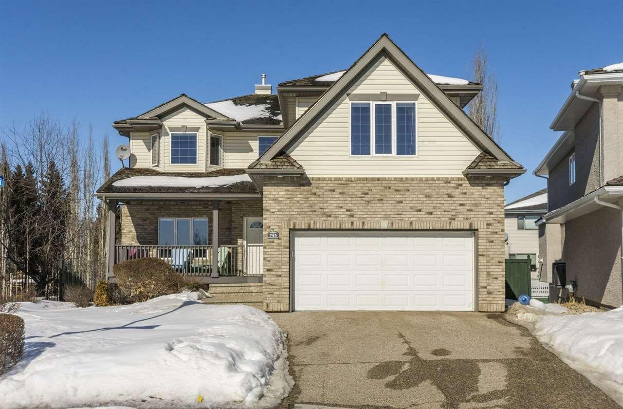 Main Photo: 743 HALIBURTON Crescent in Edmonton: Zone 14 House for sale : MLS®# E4147257