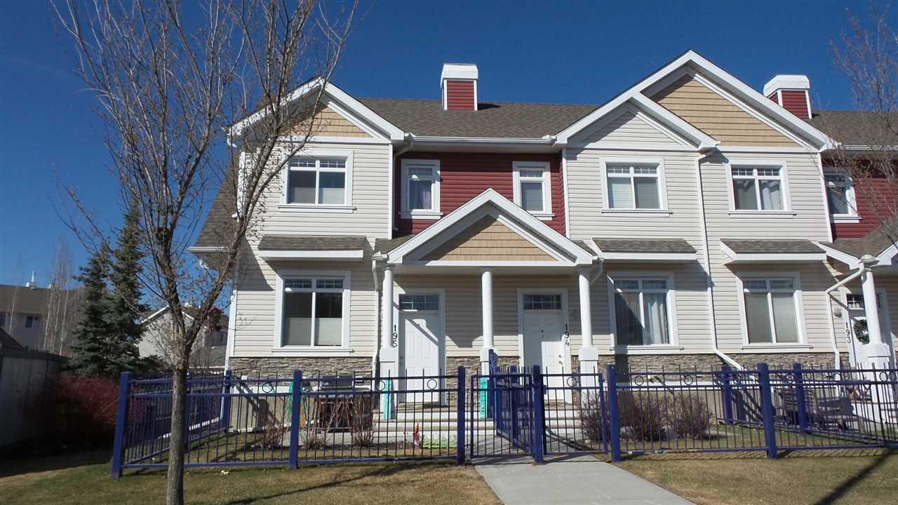 Main Photo: 195 1804 70 Street in Edmonton: Zone 53 Townhouse for sale : MLS®# E4153427