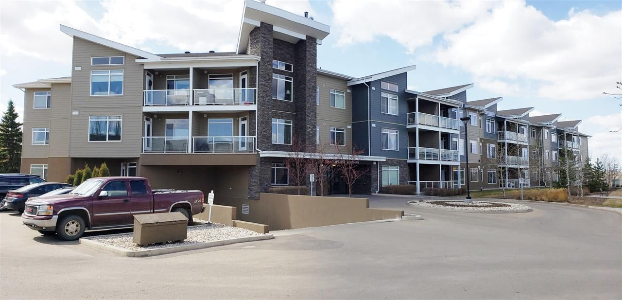Main Photo: 302 279 Wye Road Road: Sherwood Park Condo for sale : MLS®# E4153779