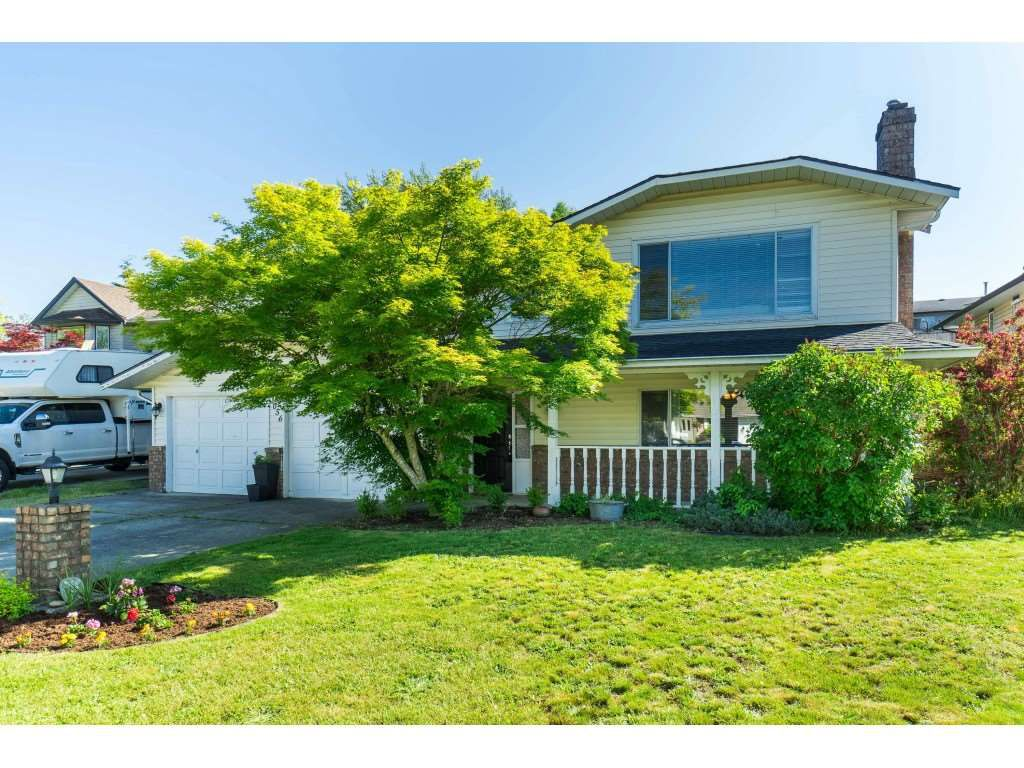 Main Photo: 3056 GLENDALE Place in Abbotsford: Abbotsford East House for sale : MLS®# R2374448