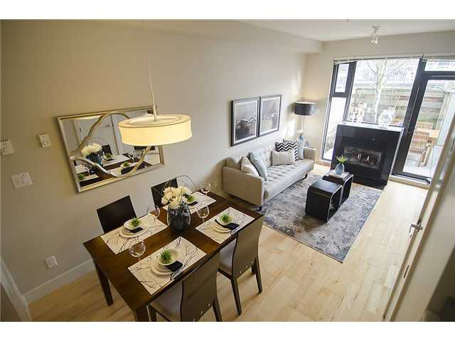 """Main Photo: 3782 COMMERCIAL Street in Vancouver: Victoria VE Townhouse for sale in """"BRIX"""" (Vancouver East)  : MLS®# V1044433"""