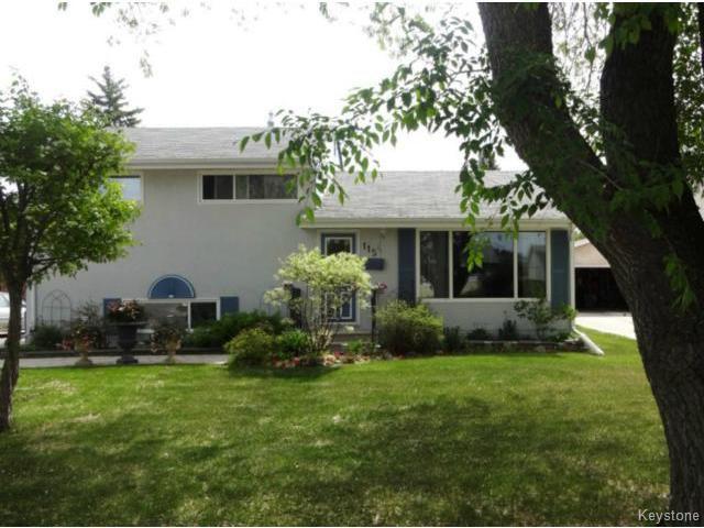 Main Photo: 115 Danbury Bay in WINNIPEG: Westwood / Crestview Residential for sale (West Winnipeg)  : MLS®# 1414116