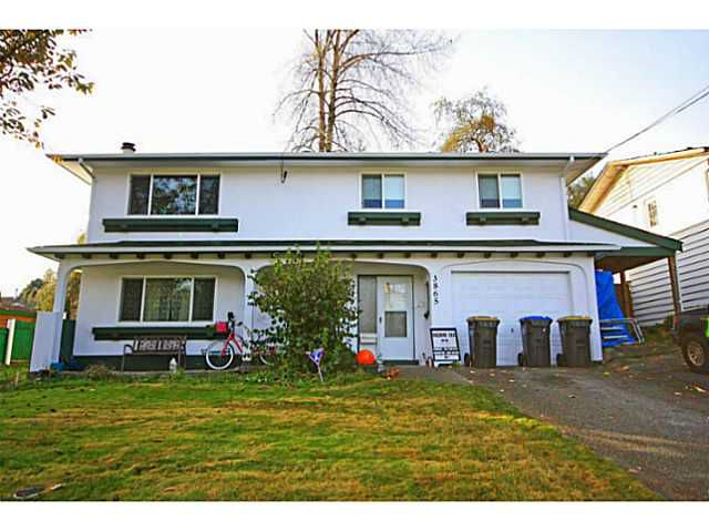 Main Photo: 3865 WELLINGTON Street in Port Coquitlam: Oxford Heights House for sale : MLS®# V1094588