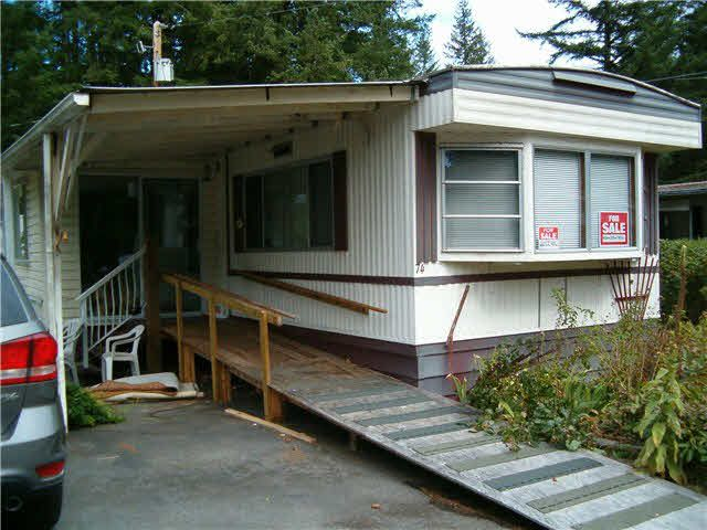 "Main Photo: 74 20071 24TH Avenue in Langley: Brookswood Langley Manufactured Home for sale in ""FERNRIDGE PARK"" : MLS®# F1450529"