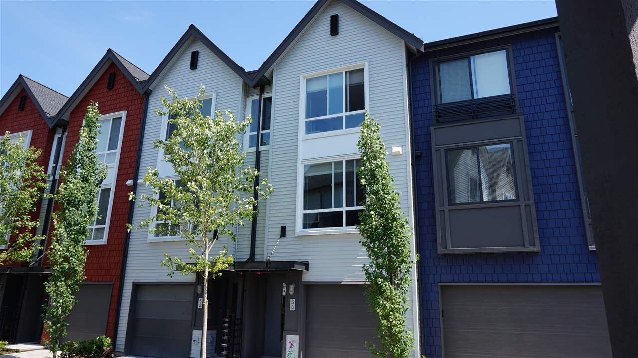 """Main Photo: 53 2310 RANGER Lane in Port Coquitlam: Riverwood Townhouse for sale in """"FREMONT BLUE"""" : MLS®# R2087108"""